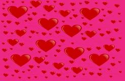 Valentines day background. Love romantic theme. Monochrome repeat design royalty free illustration