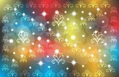 Abstract vector multicolored behang als achtergrond Royalty-vrije Stock Afbeeldingen