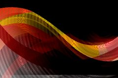 Abstract vector multicolored shaded wavy lining background,. Vector illustration. multi uses for backgrounds, wallpaper,book covers,screen savers etc Stock Photo