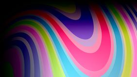 Abstract vector multicolored strips. background wallpaper. Many uses for advertising, book page, paintings, printing, mobile backgrounds, book, covers, screen vector illustration