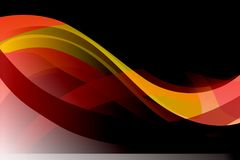 Abstract vector multicolored  wavy background, vector. Illustration, wallpaper,many uses for backgrounds or wallpapers, screen saver, book covers,web designing Stock Images