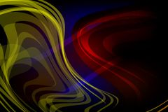 Abstract vector multicolored wavy shaded background, vector illustration. Wallpaper,many uses for backgrounds or wallpapers, screen saver, book covers,web Royalty Free Stock Photo