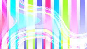 Abstract vector multicolored wavy strips. background wallpaper. Many uses for advertising, book page, paintings, printing, mobile backgrounds, book, covers royalty free illustration