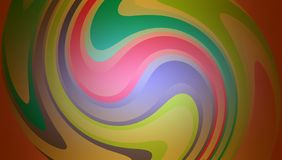 Abstract vector multicolored wavy strips. background wallpaper. Many uses for advertising, book page, paintings, printing, mobile backgrounds, book, covers stock illustration