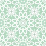 Abstract vector naadloos kantpatroon Duotone grafisch ornament Geometrisch arabesque bloemenornament Stock Fotografie
