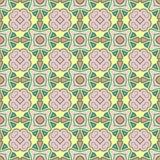 Abstract Vector Naadloos Kleurenpatroon voor Achtergrond stock illustratie