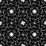 Abstract vector naadloos moirépatroon met lijnen Spirograph gr. Vector Illustratie