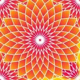 Abstract vector naadloos op kunstpatroon Kleurrijk pop-art, grafisch ornament Optische illusie vector illustratie