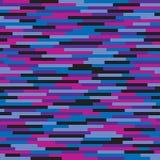 Abstract vector naadloos patroon als achtergrond in glitch stijlontwerp Royalty-vrije Stock Foto's