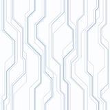 Abstract vector naadloos patroon met lijnen Royalty-vrije Stock Fotografie