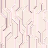 Abstract vector naadloos patroon met lijnen Stock Fotografie