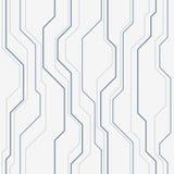 Abstract vector naadloos patroon met lijnen Stock Afbeeldingen