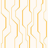 Abstract vector naadloos patroon met lijnen Royalty-vrije Stock Foto