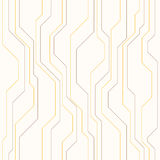 Abstract vector naadloos patroon met lijnen Stock Afbeelding