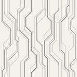 Abstract vector naadloos patroon met lijnen Royalty-vrije Stock Foto's