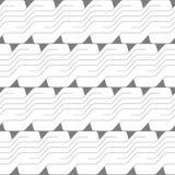 Abstract vector naadloos patroon met lijnen Achtergrond in high-tech stijl Royalty-vrije Illustratie