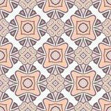 Abstract Vector Naadloos Roze Kleurenpatroon voor Achtergrond stock illustratie