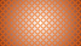 Abstract Vector Orange Color Floral seamless pattern Background royalty free illustration