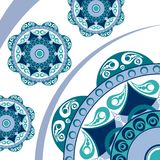 Abstract vector ornament royalty free stock photography
