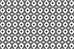 Abstract vector pattern - black and white.  Royalty Free Illustration