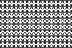 Abstract vector pattern - black and white.  Stock Illustration