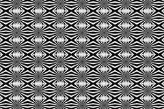 Abstract vector pattern - black and white. Background Royalty Free Illustration