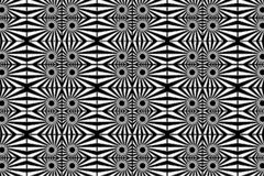 Abstract vector pattern - black and white. Background Stock Illustration