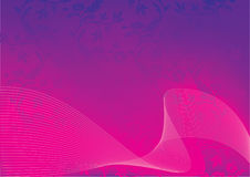 Abstract vector pink background. Vector Royalty Free Stock Photography