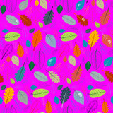 Abstract Vector Pink Retro Seamless Pattern Royalty Free Stock Image