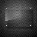 Abstract vector plane on black wall eps 10 Royalty Free Stock Image