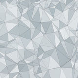 Abstract vector polygon background Royalty Free Stock Photography