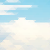 Abstract vector polygonal background. Consist of triangles. Vector illustration. Design template. EPS 10 Stock Photo