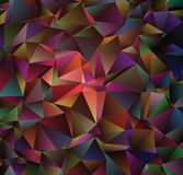 Abstract vector  polygonal  background. Low poly triangular pattern. The best graphic resourse for your design works. Modern abstract colorful background with a Stock Images
