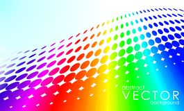 Abstract vector rainbow Stock Photos