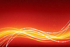 Abstract vector red background Stock Photography