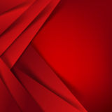 Abstract vector red background overlap layer and shadow - vector Stock Photo