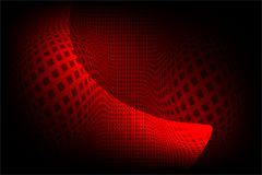 Abstract vector red and black shaded wavy lining background,. Abstract vector red and black  shaded wavy lining background, vector illustration. multi uses for Royalty Free Stock Photography