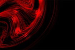 Abstract vector red colorful shaded wavy background with lighting effect, vector illustration. Many uses for paintings,printing,mobile backgrounds, book,covers stock illustration
