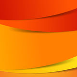 Abstract vector  red orange yellow background overlap layer and Stock Photos