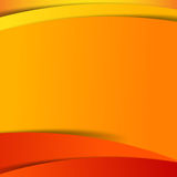 Abstract vector  red orange yellow background overlap layer and Stock Photography