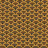 Abstract Vector Retro Pattern Stock Image