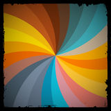 Abstract Vector Retro Spiral Background Royalty Free Stock Images