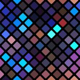 Abstract vector rhomb background Royalty Free Stock Photos