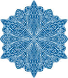 Abstract vector round lace design - mandala, decorative element Stock Image