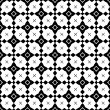Black and white seamless decorative element royalty free stock photos