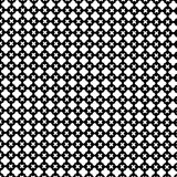 Abstract Vector Seamless geometric pattern Black and white Royalty Free Stock Photo