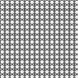 Abstract Vector Seamless geometric pattern Black and white Royalty Free Stock Photos