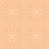 Abstract vector seamless lace pattern. Duotone graphic ornament. Geometric arabesque floral ornament Stock Photo