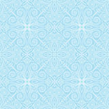 Abstract vector seamless lace pattern. Duotone graphic ornament. Geometric arabesque floral ornament Royalty Free Stock Images