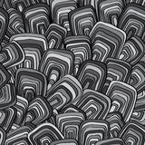 Abstract,vector, seamless monochrome pattern Stock Photos